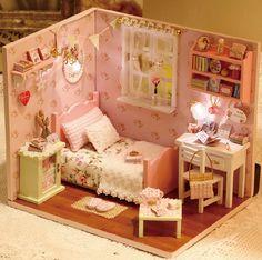 Miniature de bricolage chambre Miniature maison par UniTime sur Etsy