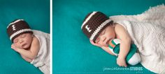 Miami Dolphins Football baby boy newborn photos | jamielauren studios