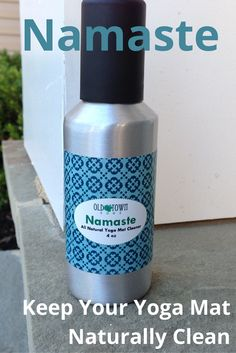 Meet Namaste, our refreshing yoga mat cleaner. It's tough on germs through its refreshing essential oil blend that is antibacterial and anti-fungal. With a castile soap base, it cleans off your hard-earned sweat and creates a safe and calming mat for your next yoga session.
