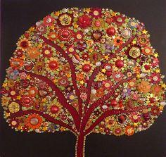 Résultats de recherche d'images pour «smalti mosaic cherry tree»