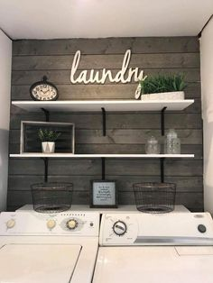 minimalist small laundry room design and decor ideas 3 . minimalist small laundry room design and decor ideas 3 Laundry Room Remodel, Laundry In Bathroom, Laundry Decor, Laundry Room Makeovers, Laundry Room Small, Laundry Area, Apartment Laundry Rooms, Colors For Laundry Room, Decorate Laundry Rooms