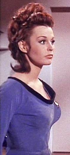 Michael Dunn uploaded this image to 'Star Trek/Marianna Hill - Dr Helen Noel - Dagger of the Mind'. See the album on Photobucket. Marianna Hill, Sci Fi Tv Series, Star Trek Episodes, Star Trek Characters, Star Trek Original, Star Trek Universe, Star Trek Tos, Jenna Coleman, Old Tv Shows