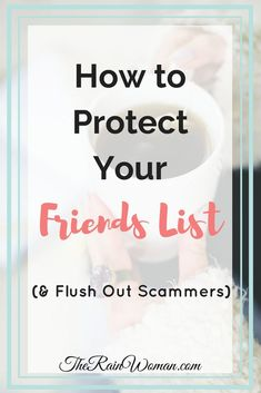 Have you ever received a duplicate friend request from a current friend? Here's how to protect your friends list and flush out scammers! Check it out!