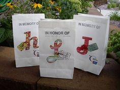 Relay For Life - Luminary Bags