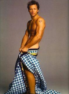 Bon Jovi for Versace.  Wow.
