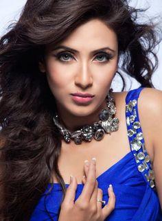 Actress Bidya Sinha Saha Mim.
