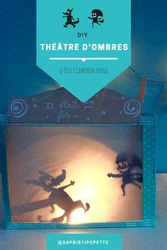 DIY théâtre d'ombres - le petit chaperon rouge : activité pour petits et grands, une manière originale de raconter l'histoire du soir !