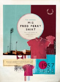 Fred Perry M12 shirt history - West Ham