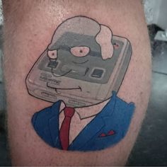 @adambeattie  Super Nintendo Chalmers. It's a proud day for the pun and Simpsons tattoo communities. ------------------------------------------------- #thesimpsonstattoo #thesimpsons #simpsonstattoo #simpsons #tattoo #moe #inked #tat #tattyslip #simpsonsfan #homer #bart #lisa #maggie #marge #mattgroening #futurama #cartoontattoo #cartoontats #epictattoo #simpsonstat by thesimpsonstattoo