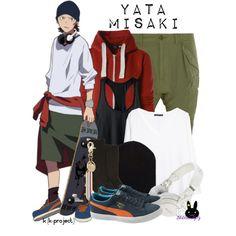 """Yata Misaki, from K (K-Project)"" by blackrabbitmegapig on Polyvore"
