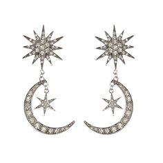 DIAMANTE EMBELLISHED MOONS AND STARS ARE THIS SEASONS NEWEST TREND AND ALSO THE KEY FEATURES OF THIS STATEMENT STYLE!