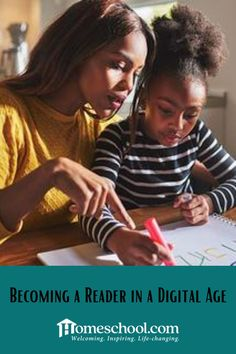 Does the thought of raising readers in this day of technology seem like a daunting task? The Learning Bar offers some helpful homeschooling advice. Online Programs, Online Homeschooling, How To Become, Thoughts, Learning, Digital, Language Arts, Raising, Advice