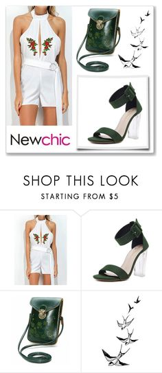 """Newchic 8"" by abecic ❤ liked on Polyvore"