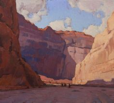 """Canyon de Chelly"" Glenn Dean, 36x40, oil on canvas"