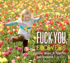 Sorry for the profanity but this is what I think of allergy season :)