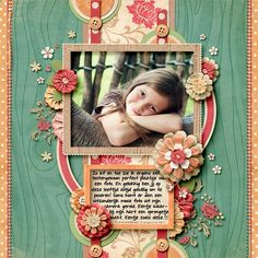 Art Journal Page Layout Ideas | idea page by Hezzybeth