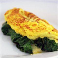 Vegan Breakfast: Egg-Free Tofu Omelet (tofu in the blender then cooked into an omlette)