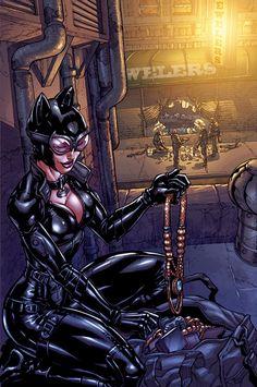 Batman: Arkham City - Catwoman Comic Art (VISIT US AT DENVER COMIC CON THIS WEEKEND @ BOOTH 407!!)
