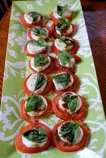 """""""Point-less"""" Meals: Tomato, Mozzarella Salad"""