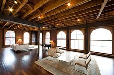 industrial style | ... of the editors at A Life Designed ; The industrial-style loft