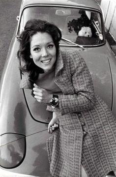 John Kelly - Diana Rigg, Londres, vers 1960.