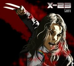 """*Laura (x-23) *quick    Check out my @Behance project: """"X - 23"""" https://www.behance.net/gallery/50797395/X-23"""