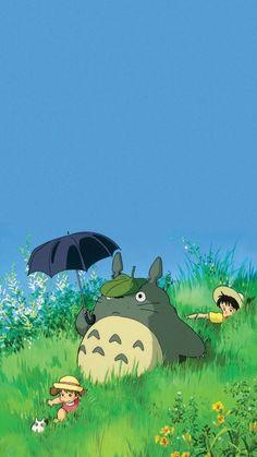 Anime Scenery Wallpaper, Cute Anime Wallpaper, Cartoon Wallpaper, Studio Ghibli Art, Studio Ghibli Movies, Personajes Studio Ghibli, Studio Ghibli Background, Japon Illustration, My Neighbor Totoro