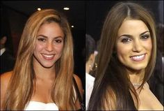 Shakira Ripoll and Nikki Reed.