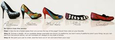 Hourglass Footwear | Hand-painted shoes for smart women