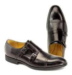 Bring out the Monk Strap! Steptronic Fresno (Black Wax), CAD $180.00 (http://www.oldshoedawg.com/mens/shoes/fresno-black-wax)