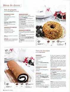Revista bimby pt-s02-0013 - dezembro 2011 Croissants, I Companion, Gluten Free Recipes, Healthy Recipes, Happy Foods, Dessert Recipes, Desserts, Sweet Recipes, Food To Make