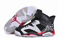 best authentic d602e 4fb23 Find Mens Air Jordan 6 Shoes Black White Spots Red online or in Nikelebron. Shop  Top Brands and the latest styles Mens Air Jordan 6 Shoes Black White Spots  ...