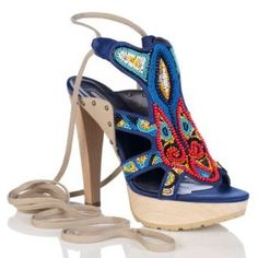 Beaded Stella McCartney Cruelty Free Shoes.