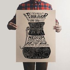 The Department of Brewology has super cool prints to decorate the walls of a coffee lover's home, office, you name it!