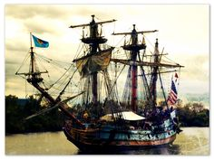 The original Kalmar Nyckel sailed from Sweden to the New World in 1638 leaving its passengers to establish the first permanent European settlement in the Delaware Valley, the Colony of New Sweden in present-day Wilmington, Delaware.