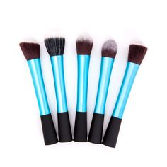 Foundation Makeup Brushes in Blue (5pc-set), 58% discount @ PatPat Mom Baby Shopping App