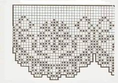 Filet Crochet, Shabby, Decor, Crochet Edgings, Holiday Crochet, Stitching, Drive Way, Hand Crafts, Decoration