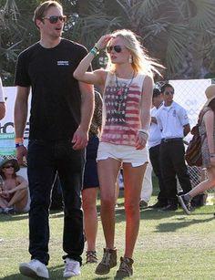 100 Ways to Wear Cutoffs. Kate Bosworth at Coachella.