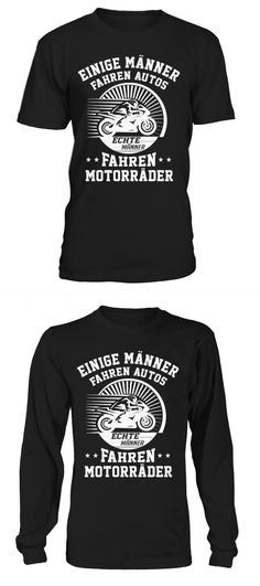 665944a902033b Echte mÄnner fahren motorrÄder t-shirt barbour motorcycle t shirt