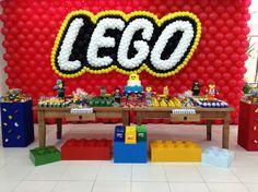 decoração de festa infantil lego movie - Pesquisa Google
