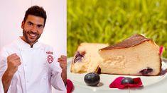 El tercer finalista de MasterChef sigue mejorando con los postres haciendo la tarta de queso más dulce y temblorosa ¡Mira cómo hacerla! Master Chef, Cheesecakes, Ethnic Recipes, Food, Chefs, World, Home, Best Cheesecake, Baked Cheese