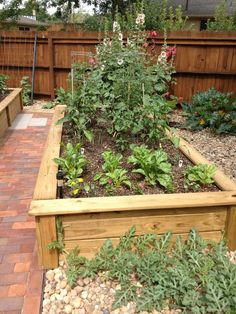 Image result for walkway raised herb garden