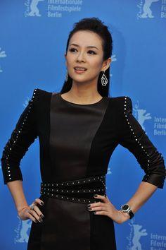 Zhang Ziyi at the Berlinale for Wong Kar Wai's The Grandmaster