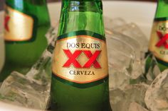 Dos Equis- fave beer in Mexico (or while at a Mexican restaurant, or in summer, or on a Tuesday, or really any time)