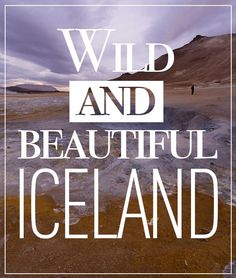 Iceland. Check out what to see and do in this amazing place.