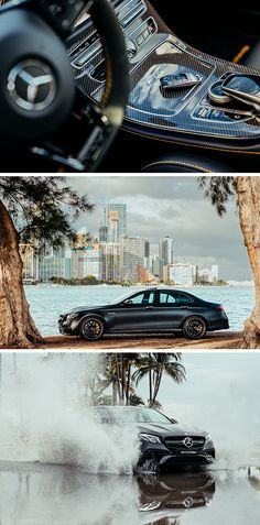 The E-Class - Distinct, emotive design and exclusive interior. Photos by Steven Sampang (www.stevensampang.com) for #MBphotopass via @Mercedes-Benz USA [Mercedes-AMG E 63 4MATIC+ | Fuel consumption combined: 9.1-8.8 l/100km | combined CO₂ emissions: 207-199 g/km | http://mb4.me/efficiency_statement]