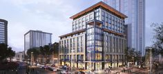 Hyatt bringing upscale hotel brand to Colorado for first time on Denver's Street Mall Travel Alerts, Open Hotel, State Of Colorado, Hotel Branding, Union Station, Brutalist, Hotels Near, Terrace