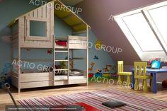 Łóżko piętrowe FREEDOM M2L - Cudowne Łóżka Domki! (5571036464) - Allegro.pl - Więcej niż aukcje.