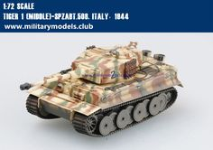 Tiger 1 [Middle]-Spzabt.508 Italy, 1944 Trumpeter 36212