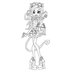 elephant monster high coloring pages - photo#39